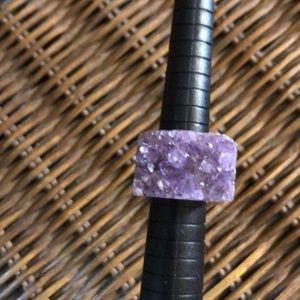 Jewelry - Organic amethyst ring